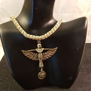Jewelry - Ancient Egyptian Goddess Maat Choker/necklace